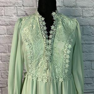 H&M Green Maxi Dress